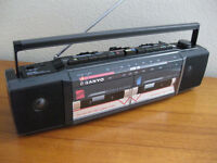WANTED - Portable stereo cassette player/boombox, if being given away, for children's music