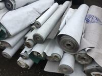 Roof breather membrane part rolls £5 per roll