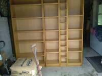 Ikea shelving x4