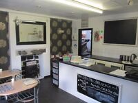SANDWICH BAR TO LET: MOTTRAM, HYDE: REF: G8678