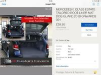 Mercedes boot liner