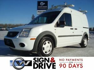 2012 Ford Transit Connect XLT w/o Rear Door Glass *Ladder Racks*