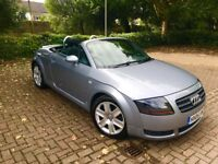 Audi TT 1.8 T Roadster 2dr 2005 IN SILVER BEAUTIFUL TT CONVERTIBLE