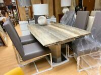 Extendable Dining Table And Chairs For Sale In Nottingham Nottinghamshire Dining Tables Chairs Gumtree