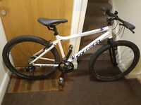 Carrera Mountain Bike with 27.5 inch wheel size.