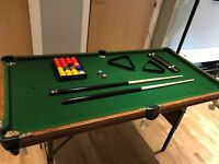 "Pool / Snooker Table 4' 6"" BCE Ronnie O'Sullivan"