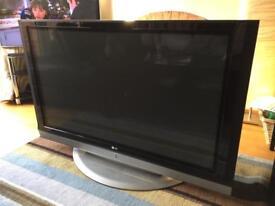 LG 50 inch plasma TV (spares or repair)