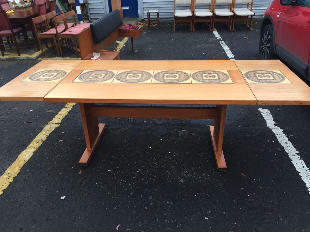 Retro Extending Dining Table Gorgeous Retro Danish Extending Dining Table By Gangso Mobler In