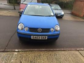 Very lovely Volkswagen polo 2003