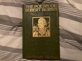 """Robert Burns """"The poetry of"""" Centenary edition"""