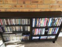 Black unit for CD, DVD/Blu-Rays or Books