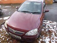 2003 Vauxhall Corsa 1.2 - 11 months MOT