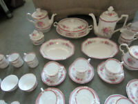 Vintage Queens Fine Bone China Rosina Richmond Set 83 pieces