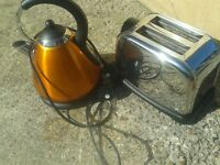 kettle and toaster set, can deliver to norwich tomorrow. used but in working condition
