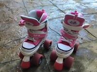 Girls roller boots size 1-3