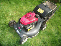 """Honda Izy 4 Stroke Petrol Lawn Mower 21"""" Cut Cost £700 new!"""