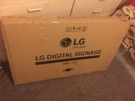 LG Digital Signage LED Brand New Sealed Pack for Sale!!!