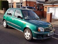 NISSAN MICRA AUTOMATIC 998cc,Service History,Mot,Only 50 000 miles
