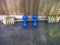 £20 WEIGHTS SET****CALLERS ONLY 07535614129*****CV33FU 138