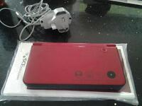DSI XL 25th Limited Anniversay Edition in red