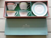 Polka Dot Cup and Saucers *brand new in box*