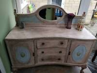 Shabby chic side table - price reduced