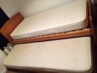 Single Pull Out Trundle Bed