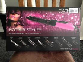 BRAND NEW CARMEN MULTI HOT AIR STYLER..