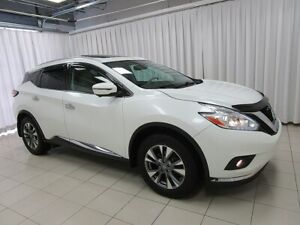 2016 Nissan Murano AWD SL WITH NAVIGATION, SUNROOF, FACTORY REMO