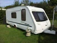 2005 Sterling Europa 525 4 berth caravan