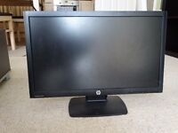 21 inch flat HP computer monitor, large and very good condition for sale