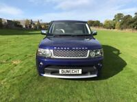 Land Rover Range Rover Sport TDV6 AUTOBIOGRAPHY (blue) 2011-03-14