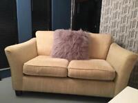 Cream 2 seater M&S Sofa / can deliver