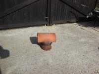 Terracotta chimney pot cowl