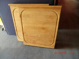 Solid wood worktop savers