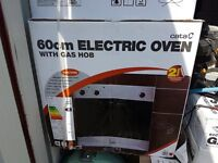 Electric oven & gas hob new