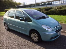 Citroen Xsara Picasso 2.0 HDi Desire, 12 Months MOT, Only done 73000 miles, Runs and drives great