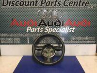 Audi A3 8V S-Line leather steering wheel