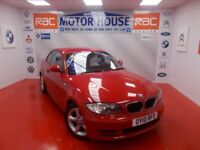 BMW 118d SPORT(£30.00 ROAD TAX) FREE MOT'S AS LONG AS YOU OWN THE CAR!!! (red) 2010