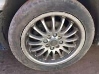 ALLOY WHEELS MULTI FITMENT CAME OFF A PEUGEOT 206 195/50/R15