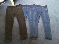 Top Shop Maternity Skinny Jeans size 10