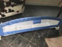 Child safety bed rail