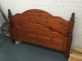 Ducal honey pine 5ft bed frame
