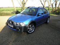 """2005 Rover Streetwise Olympic SE, 1.4, 5-door, Low Mileage, FSH, New MOT, 17"""" Alloys, 1/2 Leather"""