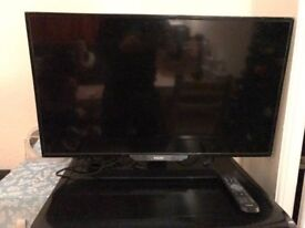 "A perfect condition 32"" HD PHILIPS used tv with remote control."
