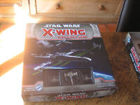 STAR WARS X WING BOARD GAME - 1 STARTER SET - COMPLETE GAME £22