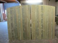 driveway gates for sale 8ft wide x 6ft high tanalised timber