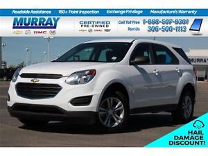 2016 Chevrolet Equinox LSHAIL DAMAGE*FINANCING AS LOW AS 0.9%*