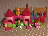 Mega Bloks Lil Princess Castle And Accessories