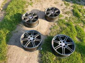 Honda civic type r ep3 alloy wheels bronze